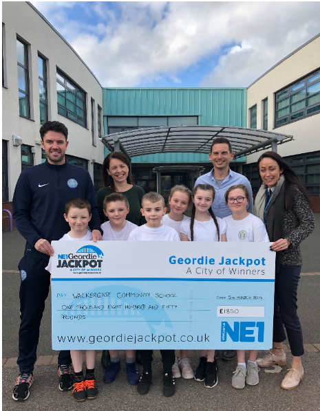 Geordie Jackpot Announces Its Latest Cash Award!