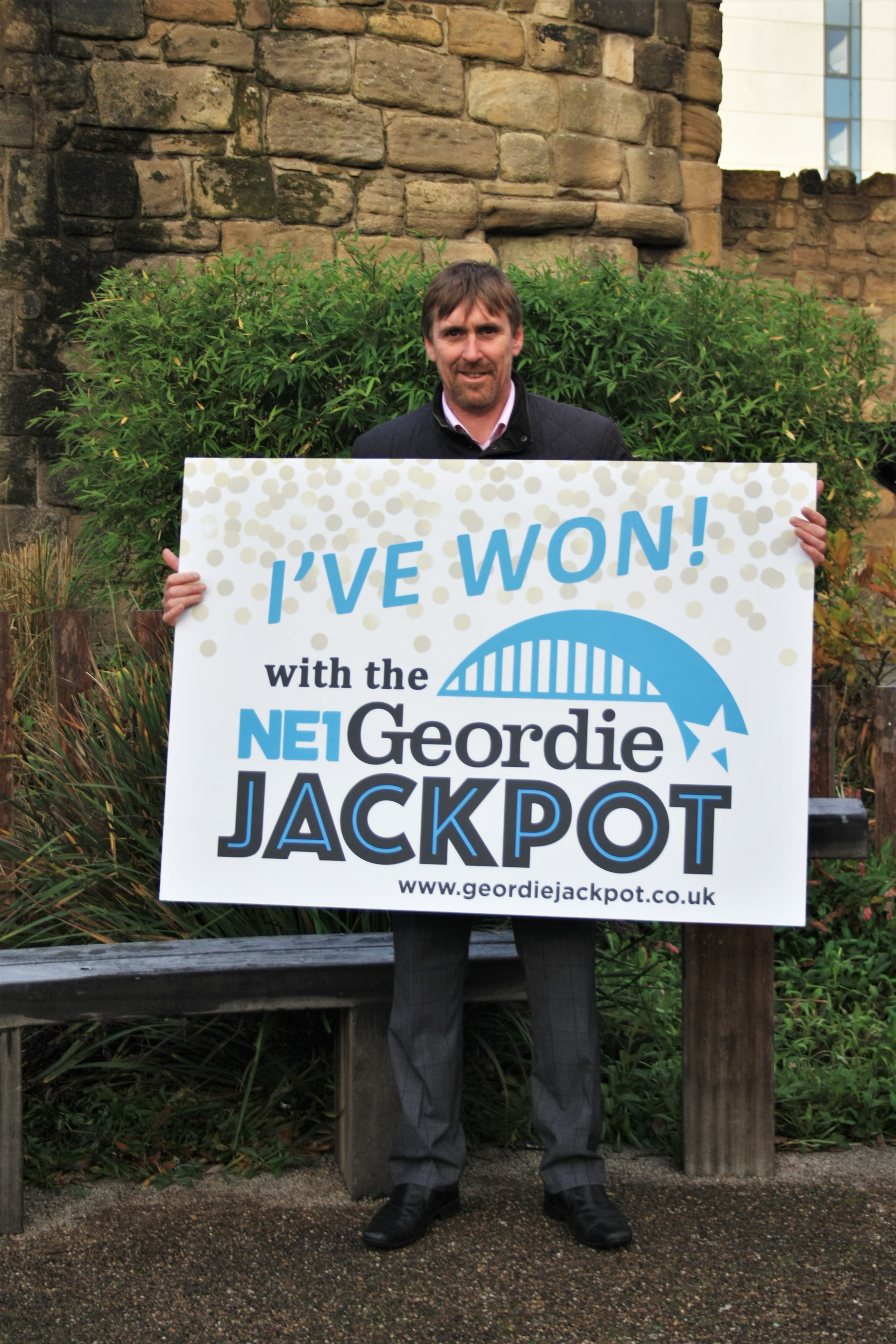 Wallsend wins in the Geordie Jackpot stakes
